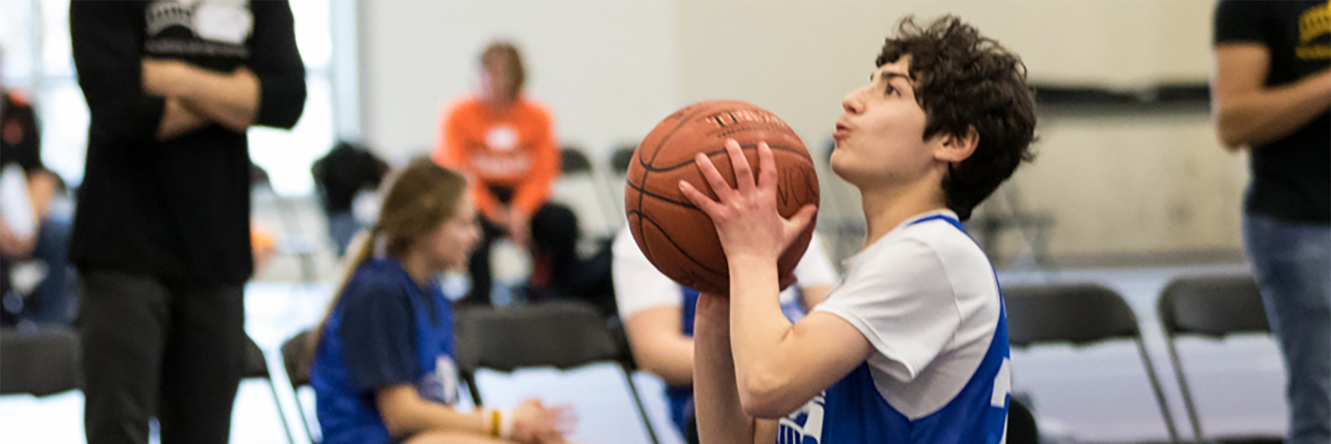Basketball is offered at the individual and team level for varying types of skill and talent.