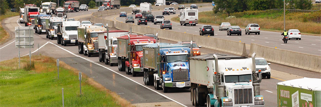Trucks at Truck Convoy