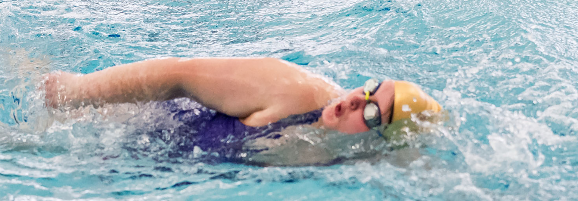 Special Olympics Minnesota swimmers swimming in pool